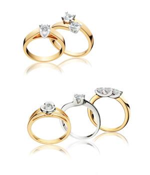 Les bagues de fiançailles et bagues diamants Fair'Belle  Pfertzel